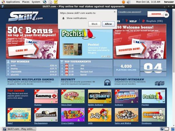 Skill7 Casino No Deposit