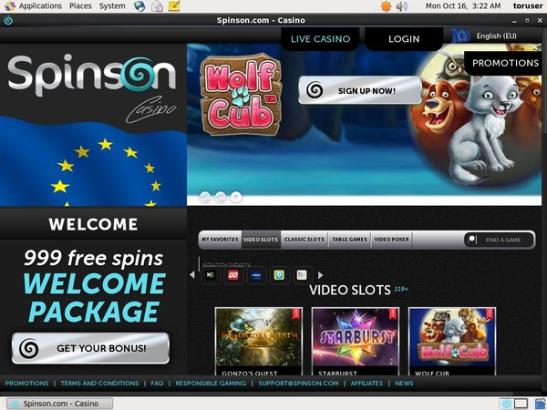 Spinson Join Promo