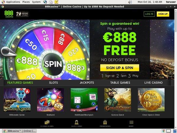 888 Casino For Fun