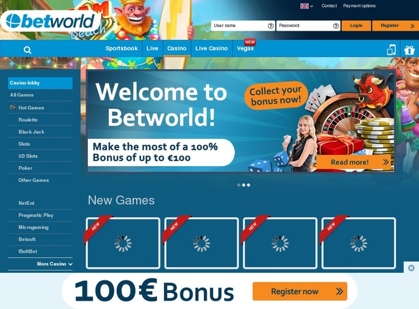 Betworld Games