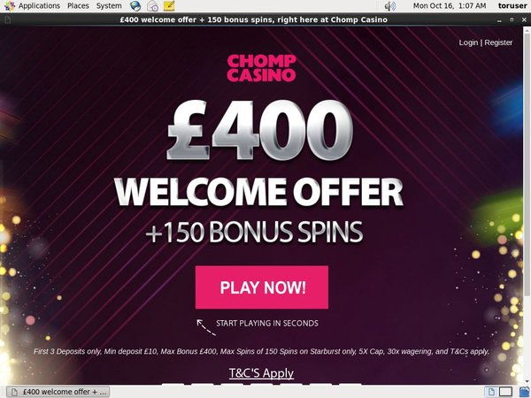 Chompcasino Matched Betting