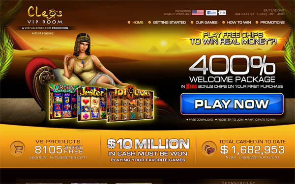 Cleosviproom Online Casino Paypal