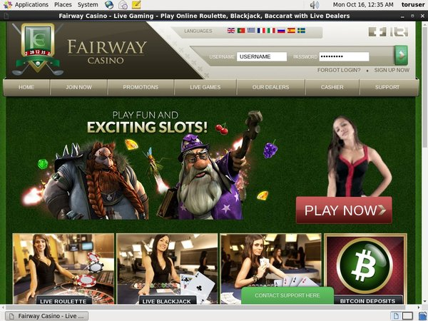Fairway Casino Jackpots