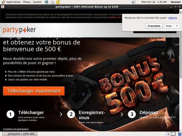 Party Poker Registration Promo Code