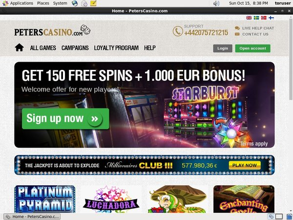 Peters Casino Joining Promo