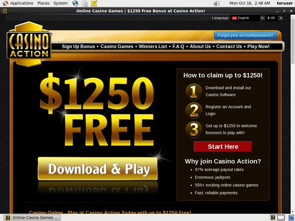 Casino Action No Deposit Codes