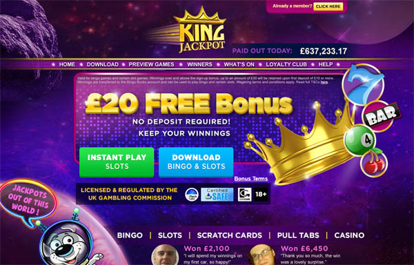 King Jackpot Sportsbook