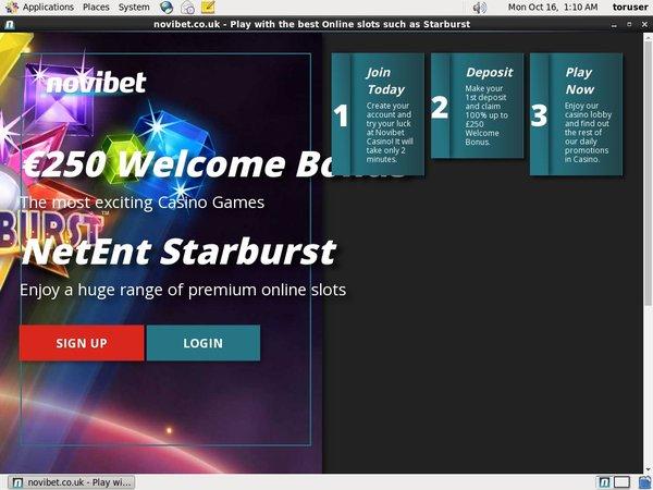 Novibet Deposit Match