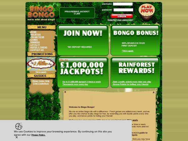 Bingobongo Picks
