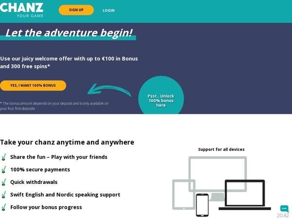 Chanz Games App