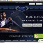 Lincoln Casino Bono