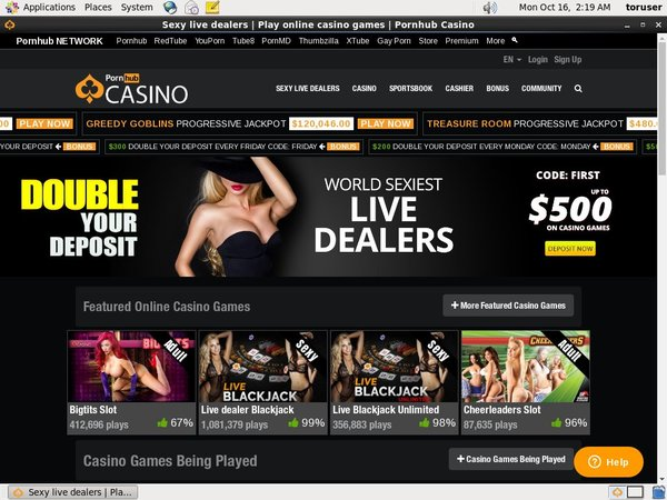 Pornhubcasino Highest Limits