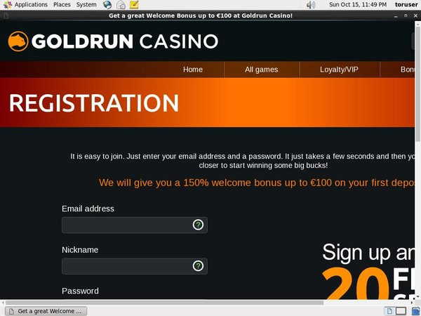 Play Goldrun