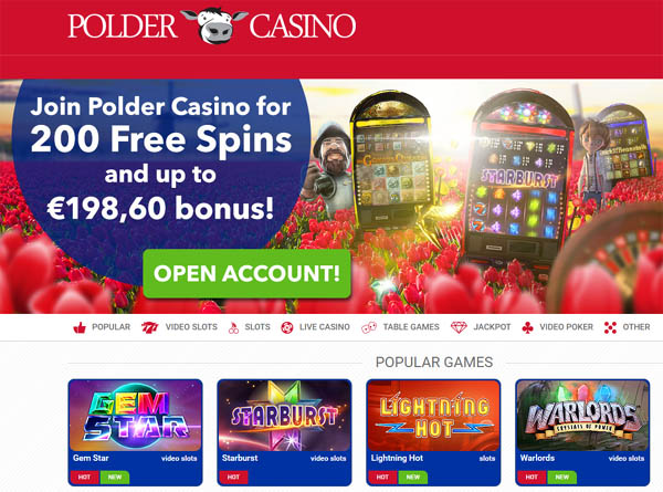 Sign Up For Polder Casino