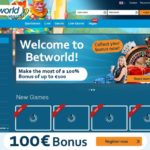 Betworld Velkomstbonus