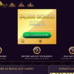 Royalacecasino Offer Code