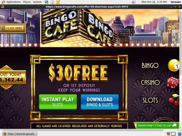 Bingo Cafe Membership