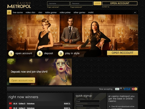 Casino Metropol Sign Up Bonus