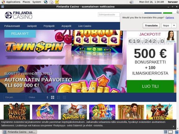Finlandia Casino Platobné