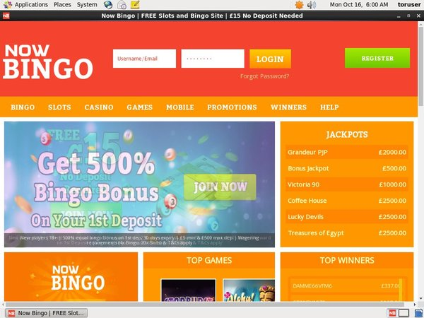 Now Bingo Promotional Code