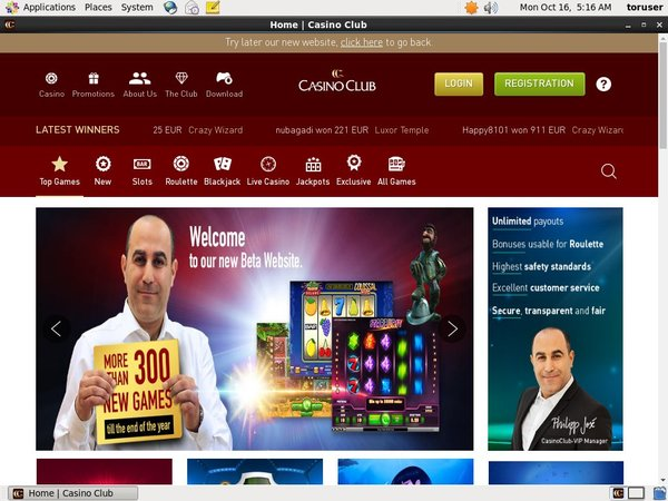 Casinoclub Casino Spel Online