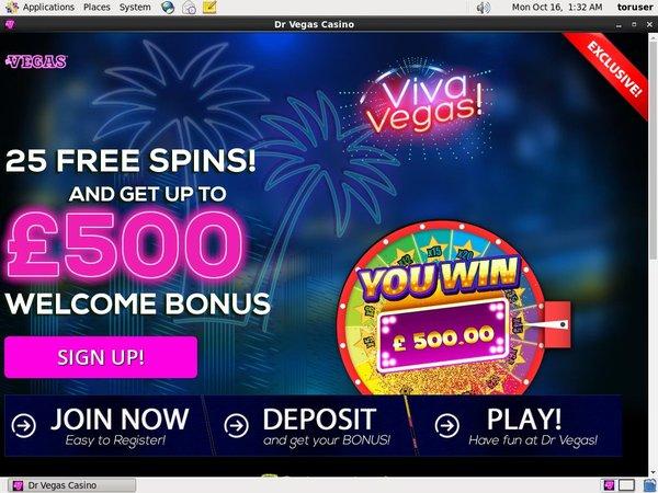 Free Spins Dr Vegas