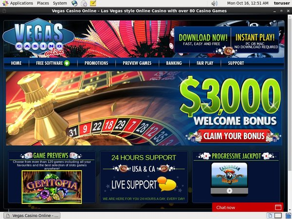 Vegas Casino Online Offers Uk