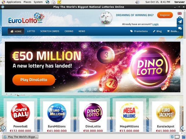 Open Eurolotto Account