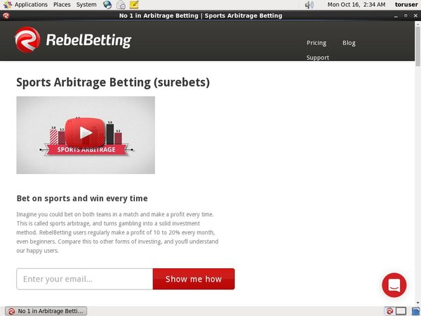 Rebel Betting Prepaid Card