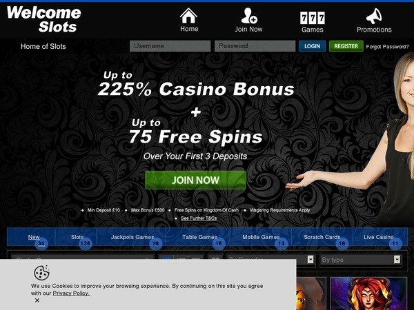 Welcomeslots Best Bingo Sites